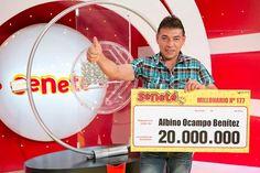 Un número le cambió todo a Albino que se ganó Gs. 20.000.000 con el #Progresivo sale o sale especial de Reyes