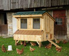 Amish Natural Quaker #ChickenCoop - 4 x 6 - Chicken Coops - Bird Supplies - Pets & Animals