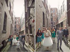 again, cool bridal party pics