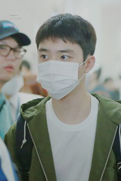 D.O - 160504 Tokyo Airport, departing for Gimpo - 2/3 Credit: Wish Boy. (도쿄공항 출국)