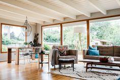 A Cool & Earthy California Home