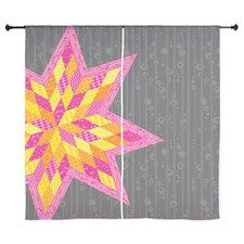 Shop Morgan's Star Curtains designed by Admin Store. Lots of different size and color combinations to choose from. Quilted Curtains, Curtain Designs, Tapestry, Stars, Color, Home Decor, Hanging Tapestry, Tapestries, Decoration Home
