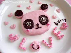 love panda chocolate