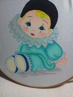 Payasito II pintura en tela.