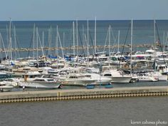 Boating Mississauga ~ Port Credit Harbour Lake Ontario Mississauga
