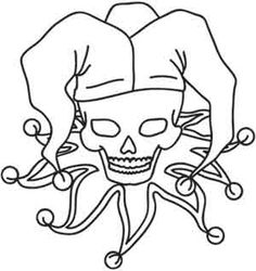 free coloring pages of jesters - photo#44