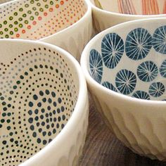 Handbuilt Tea Bowls from Rare Device    Daily Find