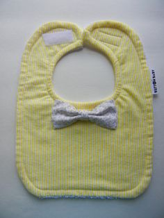 BABY BIB  Little Mr. bowtie  Shower gift  Baby by ButtonBabyShop, $8.00 - This is so adorable!