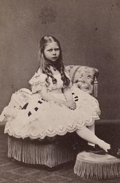 "Princess Viktoria, ""Moretta"" of Prussia, 1870s"