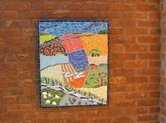 A mosaic landscape from Just Mosaics.