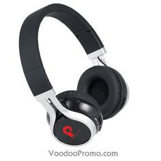 Wireless bluetooth headphones with your company logo for your employee's Christmas gift.
