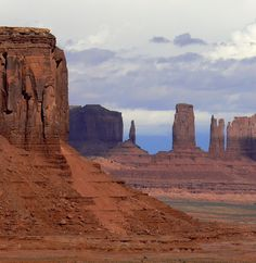 Is Monument Valley on your bucket list? Tips for the drive into the valley where you'll see sights like this: Closeup from Artist's Point in Monument Valley. Be sure to include Monument Valley when you travel to the border of Arizona and Utah. It's a great American Southwest experience.