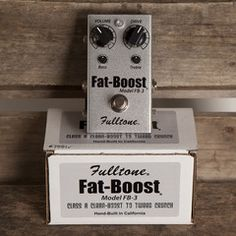 Fulltone Fat Boost 3 | Pedals and Effects Available at Garrett Park Guitars | www.gpguitars.com