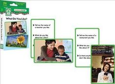 What Do You Like? Conversa Cards: Special Learners, Pk-1, Ell