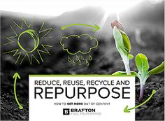 """This is a great """"How-to"""" for repurposing content marketing assets."""