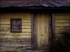 The Faded Yellow Door by Mark via Flickr.com