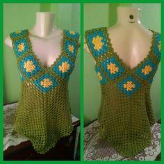 Fabulous Crochet a Little Black Crochet Dress Ideas. Georgeous Crochet a Little Black Crochet Dress Ideas. Crochet Woman, Love Crochet, Crochet Motif, Easy Crochet, Knit Crochet, Crochet Patterns, Crochet Jumper, Black Crochet Dress, Crochet Blouse