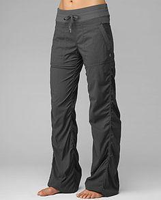 lulu lemon dance studio pants - work it. These would be great for wrestling training! <3