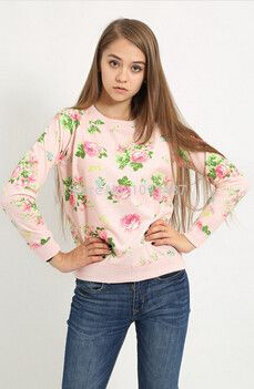 Floral Casual Pullover