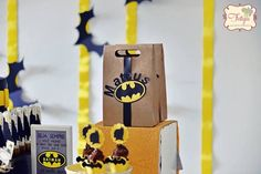 Batman Birthday Party via Kara's Party Ideas | KarasPartyIdeas.com (13)