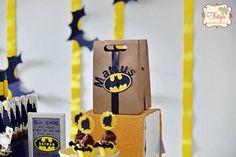 Batman Birthday Party via Kara's Party Ideas | KarasPartyIdeas.com (13)