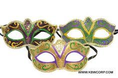 mardi gras Masquerade Prom, Venetian Masquerade Masks, Opera Mask, Feather Mask, Half Mask, Mardi Gras, Different Styles, Sorority, Patterns