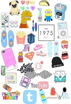 New aesthetic wallpaper laptop collage ideas Vans Wallpaper, New Wallpaper Iphone, Tumblr Wallpaper, Rainbow Wallpaper, Tumblr Stickers, Phone Stickers, Diy Stickers, Planner Stickers, Sticker Printable