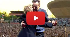 Bruce Springsteen Dances With His Mother Adele