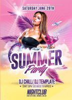Summer Party | Psd Flyer Templates by RomeCreation