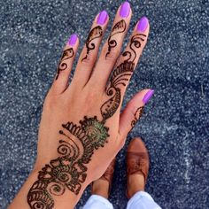 Henna & Purple Essi Nail Polish