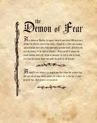 """Book of Shadows: """"The Demon Of Fear,"""" by Charmed-BOS, at deviantART. Witch Spell Book, Witchcraft Spell Books, Magick Spells, Demon Spells, Voodoo Spells, Deviantart, Truth Spell, Witchcraft Spells For Beginners, Charmed Book Of Shadows"""