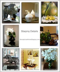 "Home Staging ""Details"" to impress potential buyers and help SELL your Home!"