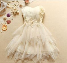Strapless Dress for Engagement or Bridal Party