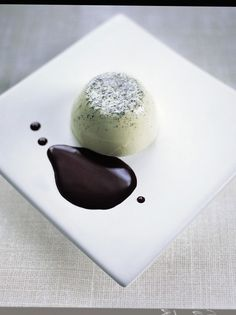 green tea & vanilla pannacotta with chocolate sauce | Jamie Oliver | Food | Jamie Oliver (UK)