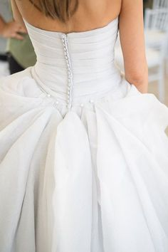 """Wedding Dress Bustle Wedding Dress Bustle - wedding dress bustle Saying """"I do"""" outdoors? Then you'll absolutely be accepting bottomward and bedraggled on your bells day in Wedding Gown Bustle, Bustle Dress, Wedding Dress Train, Tulle Wedding, Wedding Gowns, Wedding Venues, Wedding Ideas, Wedding Stuff, Wedding Dresses Plus Size"""