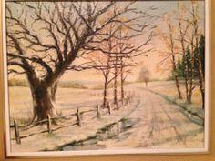 Snowy Road by W. H. Figgures