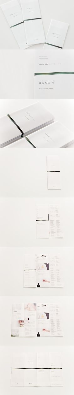 ≪note et silence. によるイベントのためのハンドアウト≫ note et sort. vol.2 Handout | AMBIDEX Co., Ltd. 2011年 / 29.4 cm × 41.8cm / Mixed Media / Edition 1600