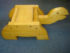 Childs Turtle Stepstool No Instructions Here To Make It