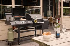 BBGrill Grand Canyon houtskool-gasbarbecue