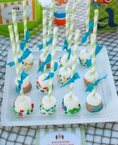 marshmallow pops summer party