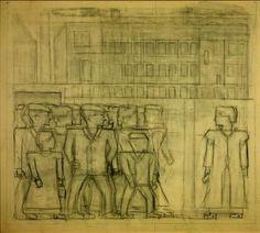 Bart van der Leck - sketch