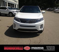 Thank you to Kelly Lauder on the 2014 Kia Sorento from Andrew (Mickey) Mulheren and everyone at Monroeville Kia Mazda!