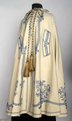 TWO PIECES LADIES' WOOL OUTERWEAR, 1860s (early-mid) | In the Swan's Shadow