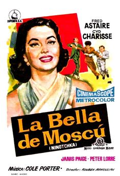 f3839ace396 LA BELLA DE MOSCÚ. Cartel de España. Autor  Francisco Fernández-Zarza