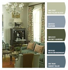 Paint colors from ColorSnap by Sherwin-Williams ...
