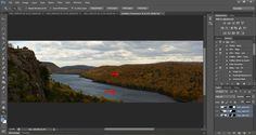 Post Processing Tips for Panorama Photographs in Adobe Photoshop.