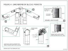 ECU Coat Sleeve Pockets