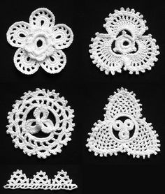 Irish Crochet motif - jpg Here is a pdf file with good Irish Crochet instructions http://www.belvetlace.ru/dmc_icl_1.pdf