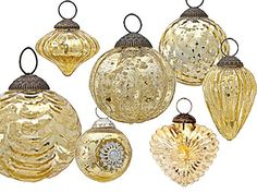 mercury glass christmas ornaments ballard designs deck the halls the walls the tree me pinterest mercury glass glass christmas ornaments and - Mercury Glass Christmas Decorations