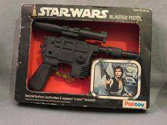 Palitoy Han Solo Blaster Pistol Star Wars Vintage 1977